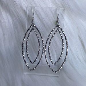 Stella & Dot Bardot Hoop Earrings